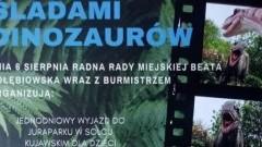 """Gmina Nowy Dwór Gdański: """"Śladami dinozaurów"""" wyjazd dla mieszkańców trzech sołectw."""