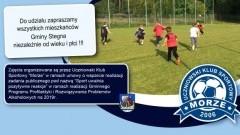 Bezpłatne zajęcia rekreacyjno-sportowe na stadionie w Stegnie