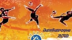 Jantarowe Lato 2019: Turniej plażowej piłki nożnej.