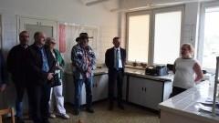 Burmistrz Nowego Dworu wraz z Zastępcą oraz Radnymi odwiedzili Zakład Produkcji Wody w Ząbrowie
