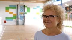 Sala gimnastyczna w SP 3 czeka już na uczniów.