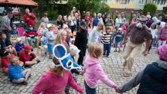 Nowy Dwór Gdański: VII Festiwal Form Ulicznych Hybzio.