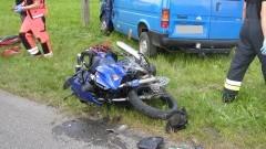 Śmiertelny wypadek z udziałem motocyklisty. Weekendowy raport malborskich służb mundurowych.