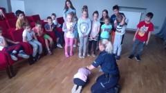 Nowy Dwór Gdański: Funkcjonariusze opowiadali o bezpieczeństwie