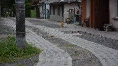 W powiecie nowodworskim poprawiono stan kilku wiejskich dróg.