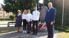 Nowy Dwór Gdański: Delegacja ZS nr 2 wzięła udział w obchodach 80 rocznicy wybuchu II wojny światowej.