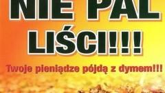 Gmina Nowy Dwór Gdański: Zakaz spalania liści i traw