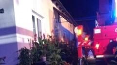 Pożar w Solnicy. Dwie osoby przewiezione do szpitala - raport nowodworskich służb mundurowych