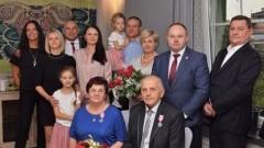 Nowy Dwór Gdański: Złote Gody Państwa Małeckich