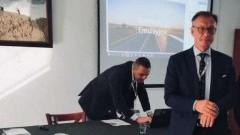 Starosta Nowodworski oraz przedstawiciel nowodworskiej firmy wzięli udział w Seminarium Technicznym.