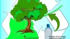 """Nowy Dwór Gdański: Akcja """"Chronić środowisko - wysiłek niewielki dostaniesz drzewko przynosząc butelki"""""""