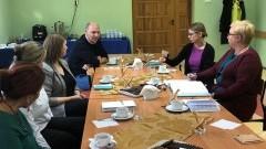 Spotkanie sieci współpracy i samokształcenia doradców zawodowych powiatu nowodworskiego.