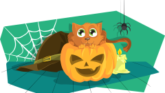 """Karma albo psikus! Halloweenowa zbiórka dla malborskich """"Reksiaków"""""""