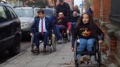 Jak to jest poruszać się na wózku inwalidzkim na co dzień? Wydarzenie Stowarzyszenia ON in Malbork.