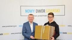 Nowy Dwór Gdański: Nagroda dla Wicemistrza Polski w podnoszeniu ciężarów.