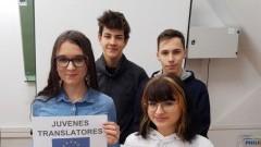 II LO w Malborku w międzynarodowym konkursie JUVENES TRANSLATORES 2019.