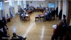 XII sesja Rady Powiatu Sztumskiego. Zobacz na żywo.