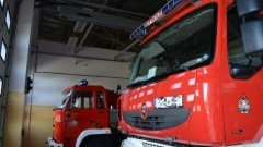 Pożar budynku mieszkalnego w Broniewie - raport nowodworskich służb mundurowych