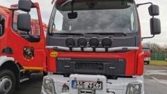 Oficjalne przekazanie samochodu strażackiego i otwarcie rozbudowanej remizy w Stogach