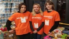 Malborscy uczniowie wzięli udział w Świątecznej Zbiórce Żywności.