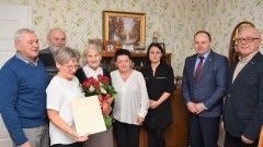 Pani Natalia Adamska obchodzi jubileusz 92.urodzin