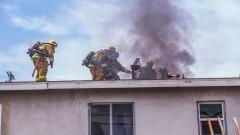 Pożar mieszkania – weekendowy raport nowodworskich służb mundurowych.