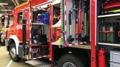 Nowy wóz ratowniczo – gaśniczy trafił do OSP Marynowy.