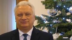 Jerzy Szałach, Burmistrz Nowego Stawu składa życzenia świąteczno-noworoczne