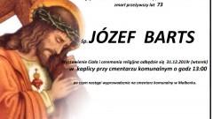 Zmarł Józef Barts. Żył 73 lata.