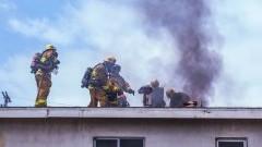 W pożarze w Drewnicy ucierpiała jedna osoba – raport nowodworskich służb mundurowych.