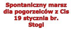 """""""Spontaniczny marsz dla pogorzelców z Cis"""""""