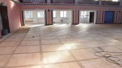 Zobacz postęp prac przy remoncie Żuławskiego Ośrodka Kultury.