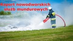 Działania w cieniu koronawirusa – raport nowodworskich służb mundurowych.