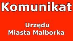 Komunikat Urzędu Miejskiego w Malborku w sprawie wniosków do CEIDG.