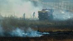 Jak grochem o ścianę! Pożary traw znowu dominowały – raport nowodworskich służb mundurowych.