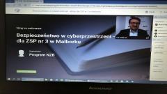 Uczniowie szkół ponadpodstawowych wezmą udział w lekcjach on-line o bezpieczeństwie w cyberprzestrzeni.