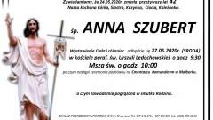 Zmarła Anna Szubert. Żyła 42 lata.