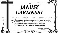 Zmarł Janusz Garliński. Żył 59 lat.