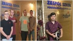 Wojewódzki sukces uczniów ZSP3.