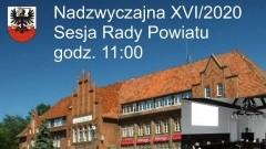 Nadzwyczajna XVI/2020 sesja Rady Powiatu Malborskiego. Oglądaj na żywo - 08.06.2020