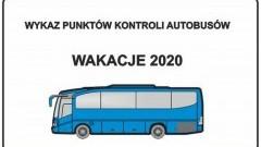 Gdzie zgłosić kontrolę autobusu z dziećmi wyjeżdżającymi na wakacje?