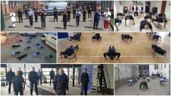 Służba Więzienna z okręgu gdańskiego podjęła wyzwanie w #GaszynChallenge.