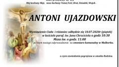Zmarł Antoni Ujazdowski. Żył 61 lat.