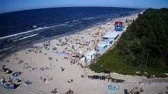 Tragedia w Kątach Rybackich. Nie żyje 47-letni mężczyzna. Wskoczył do morza po syna.