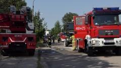 31 interwencji, w tym 17 pożarów – weekendowy raport malborskich służb mundurowych.