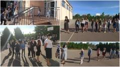 """""""Czas nowych szczególnych wyzwań"""" - początek roku szkolnego w Zespole Szkół w Gościszewie."""