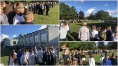 Uroczyste rozpoczęcie roku szkolnego w Zespole Szkolno – Przedszkolnym w Drewnicy.