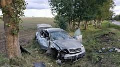 DK55. Niedostosowanie prędkości przyczyną wypadku w Gościszewie?