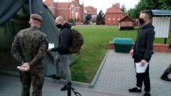 W Malborku wcielili nowych terytorialsów.
