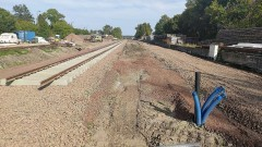 Sztum – zobacz remont trasy kolejowej nr 207 - 22.09.2020